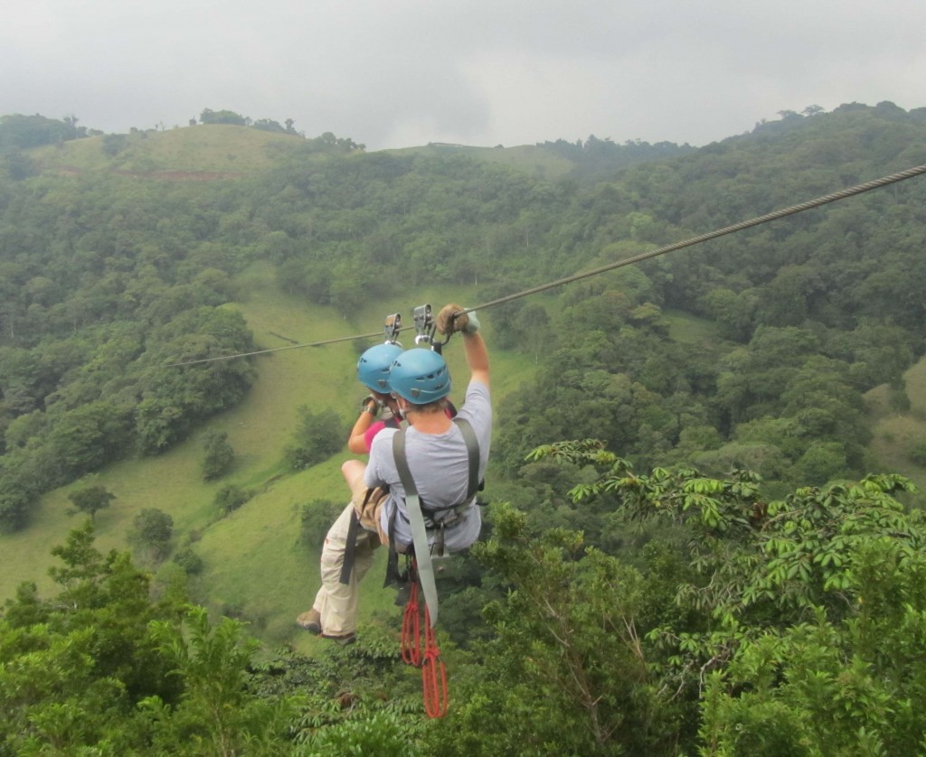 Adventure Activities in Costa Rica - zip lining