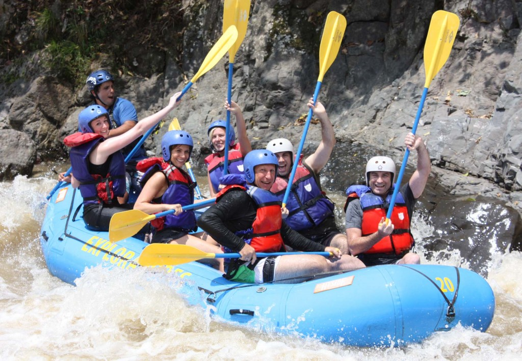 Adventure Activities in Costa Rica - rafting