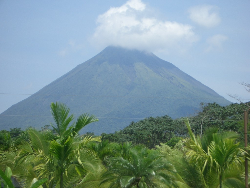 Arenal volcano hotsprings