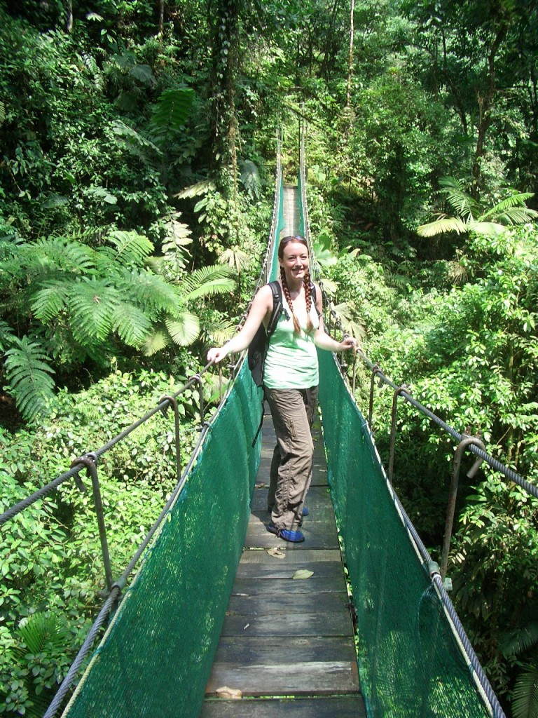 Horseback Riding in La Fortuna - Indiana Jones bridge