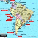 My South America Route: North to South