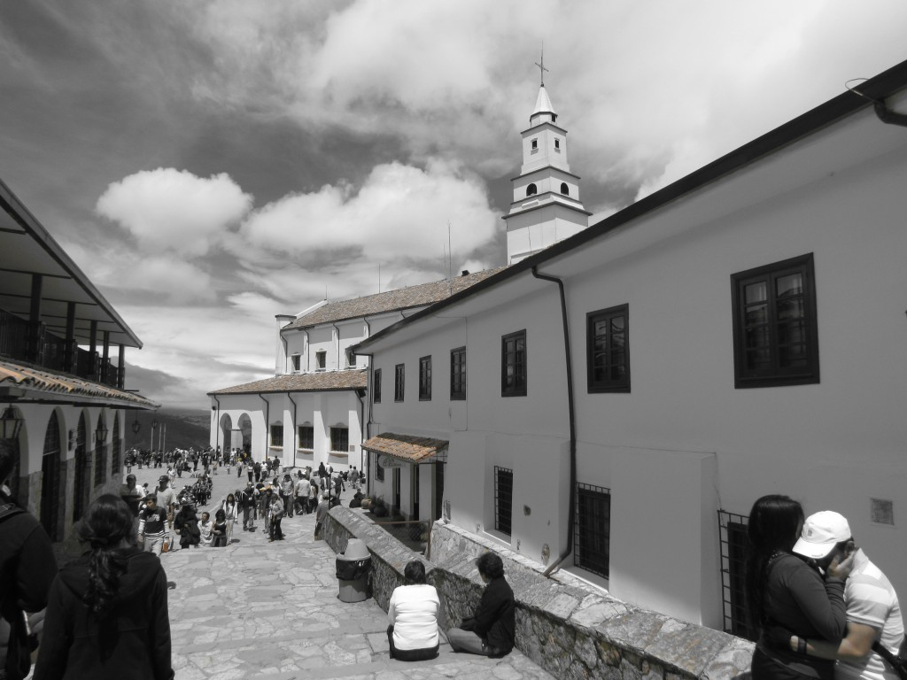 Impressions of Bogota - Monserrate church