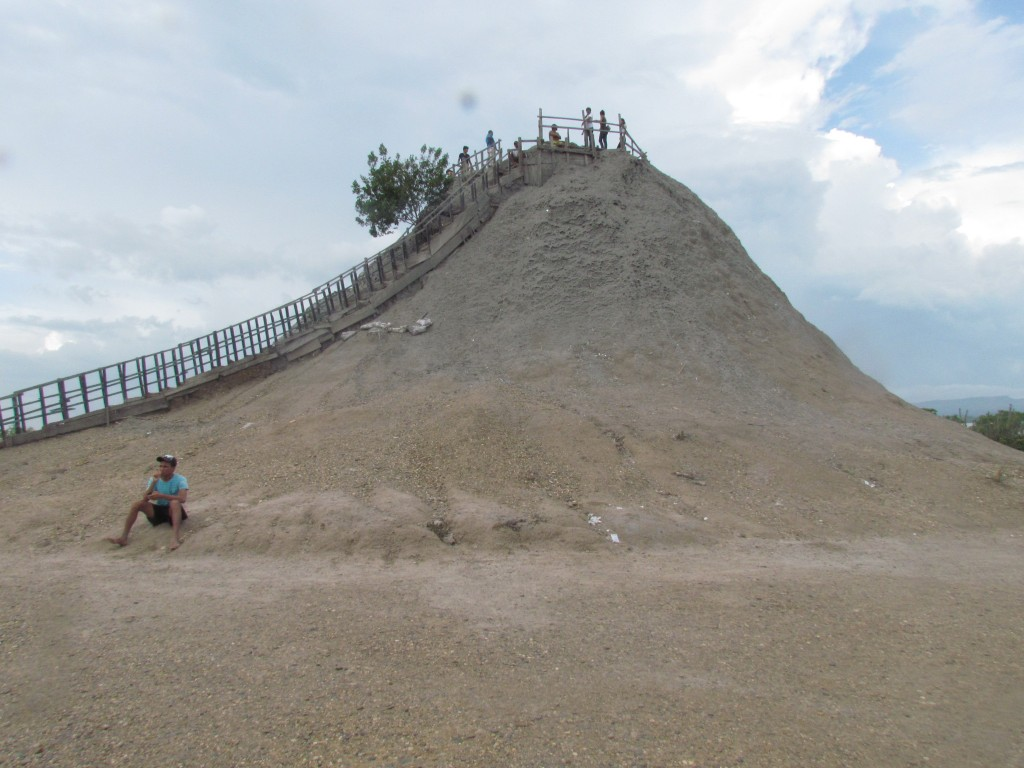 El Totumo Mud Volcano - the mound itself