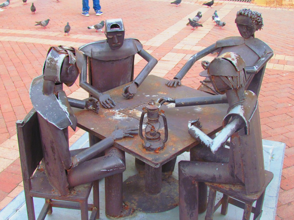 Cartagena City - sculptures