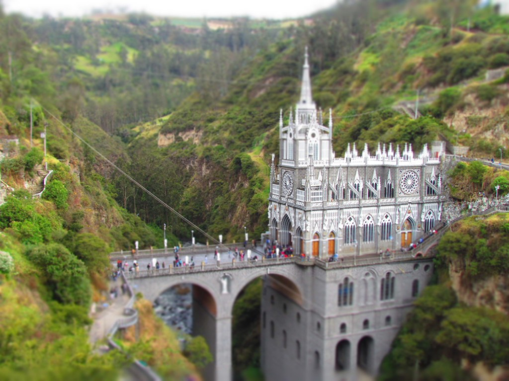 Cali to Quito - Las Lajas