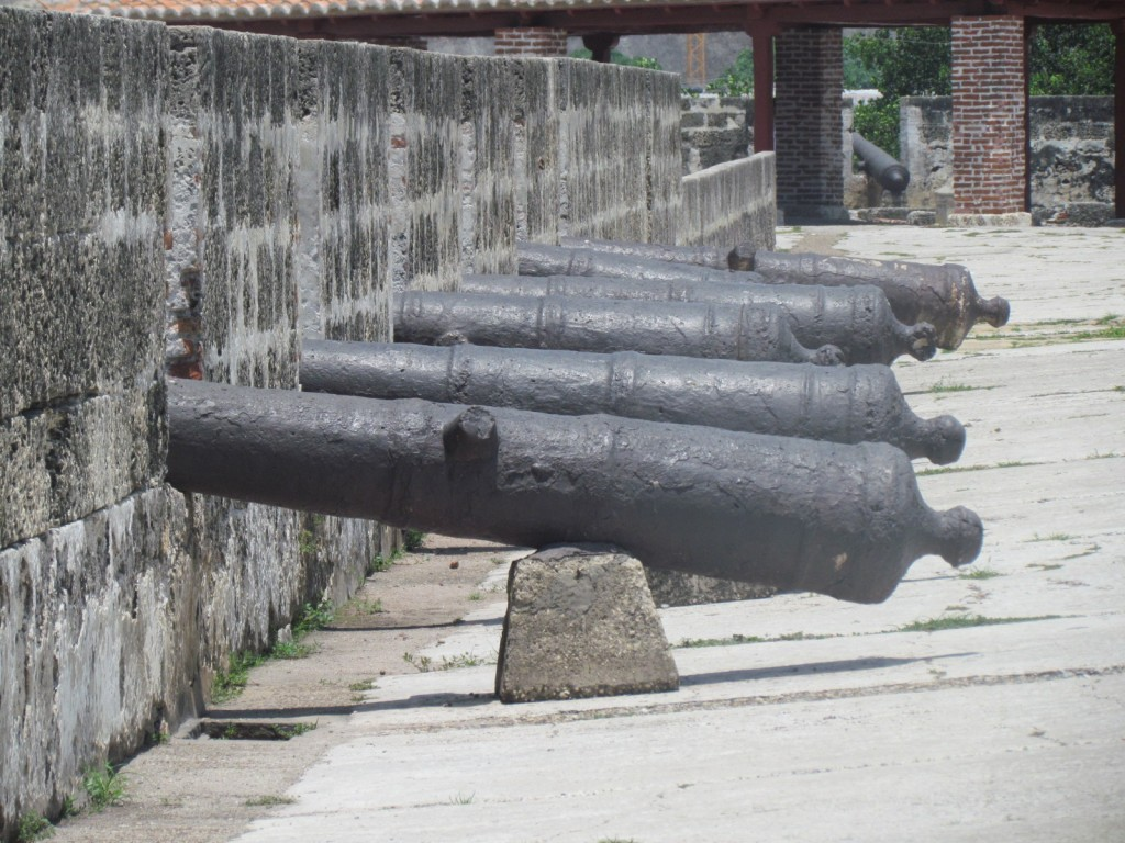 Cartagena City - canons