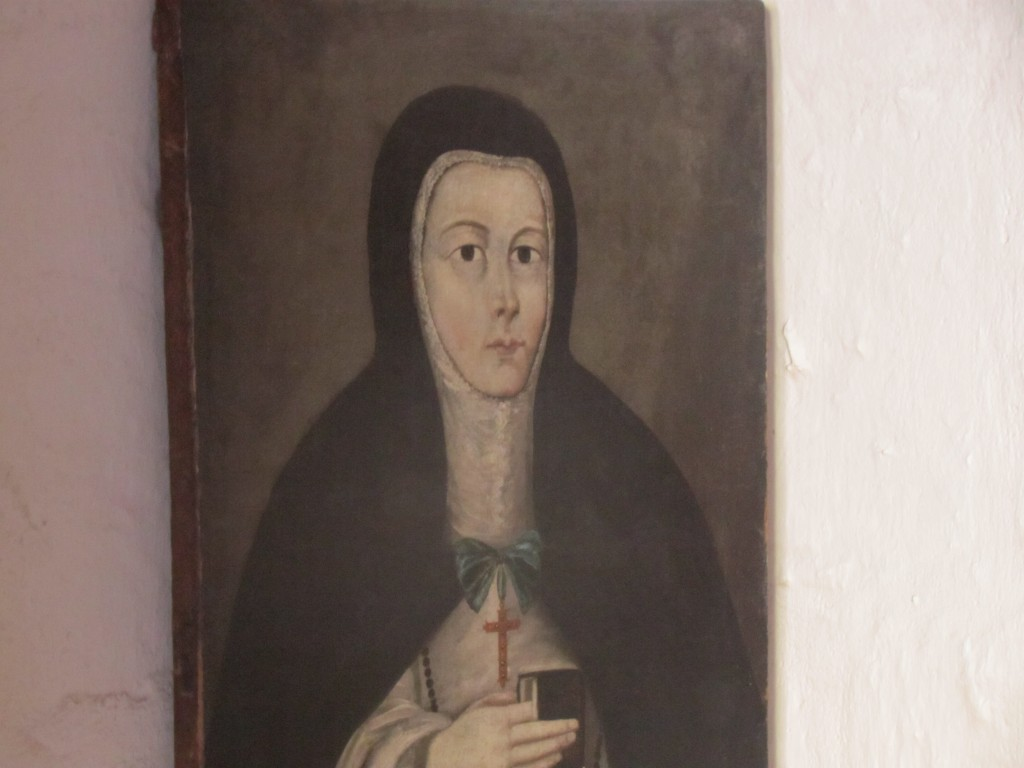 Santa Catalina Monastery - dead mother superior