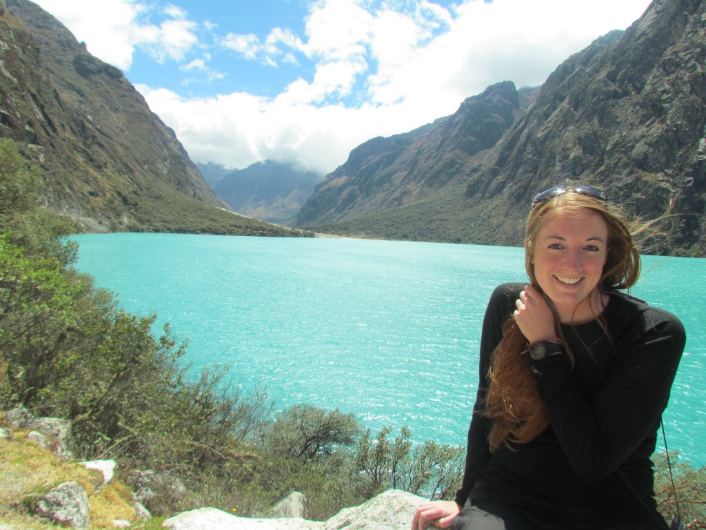 Hiking the Santa Cruz Trek (Huaraz) - pretty lake