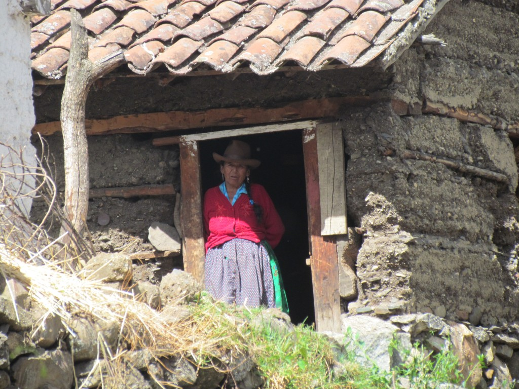 Hiking the Santa Cruz Trek (Huaraz) - volunteer village