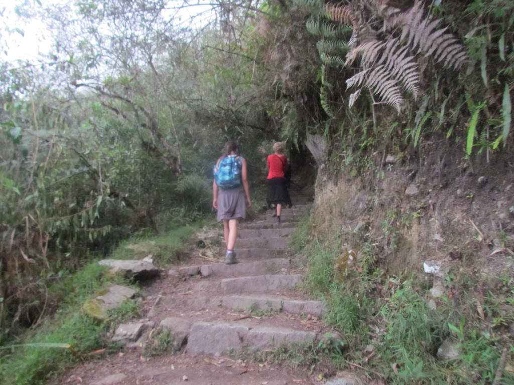 A day in Machu Picchu - long morning hike