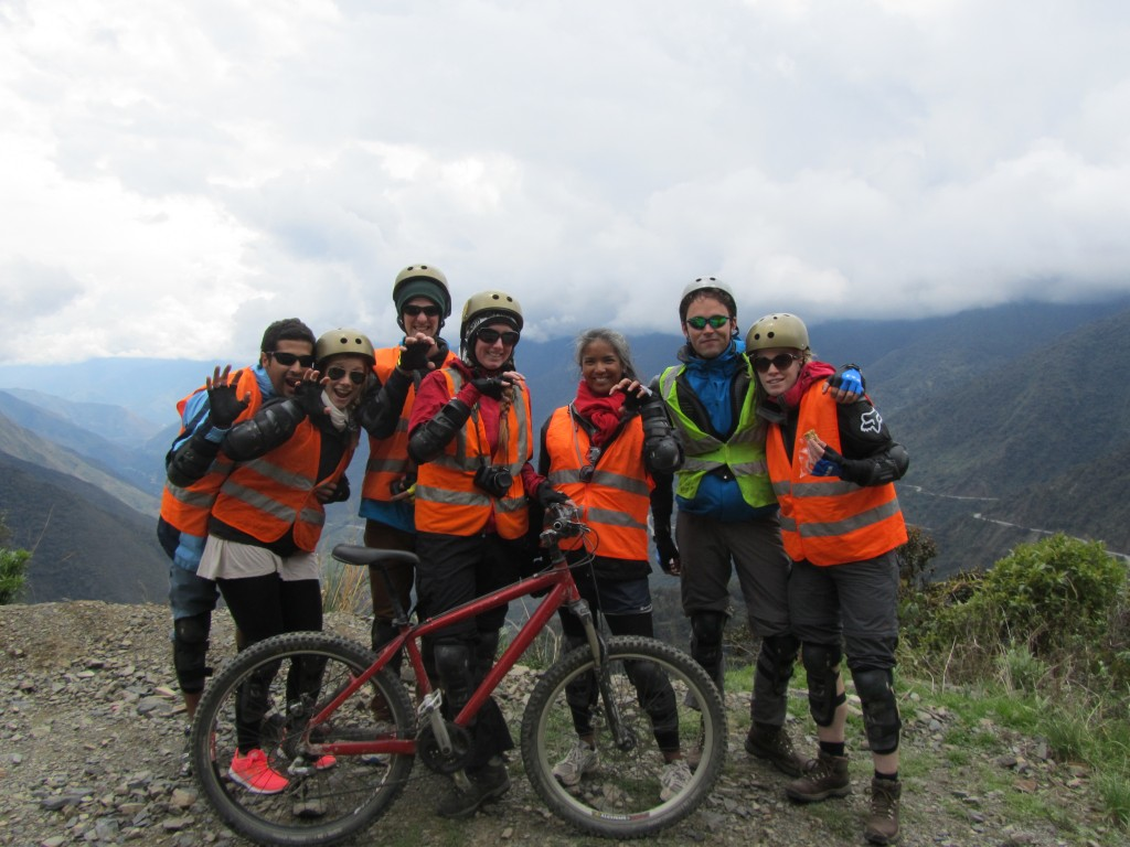 Jungle Trail to Machu Picchu - pumas on bikes