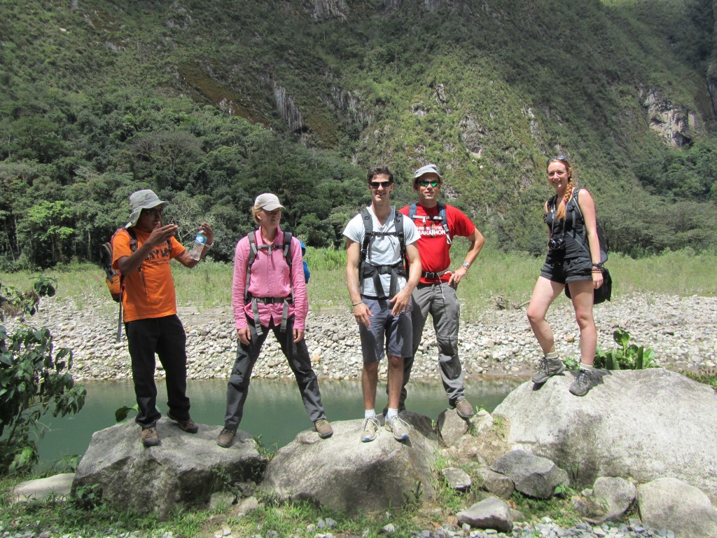 Jungle Trail to Machu Picchu - almost there