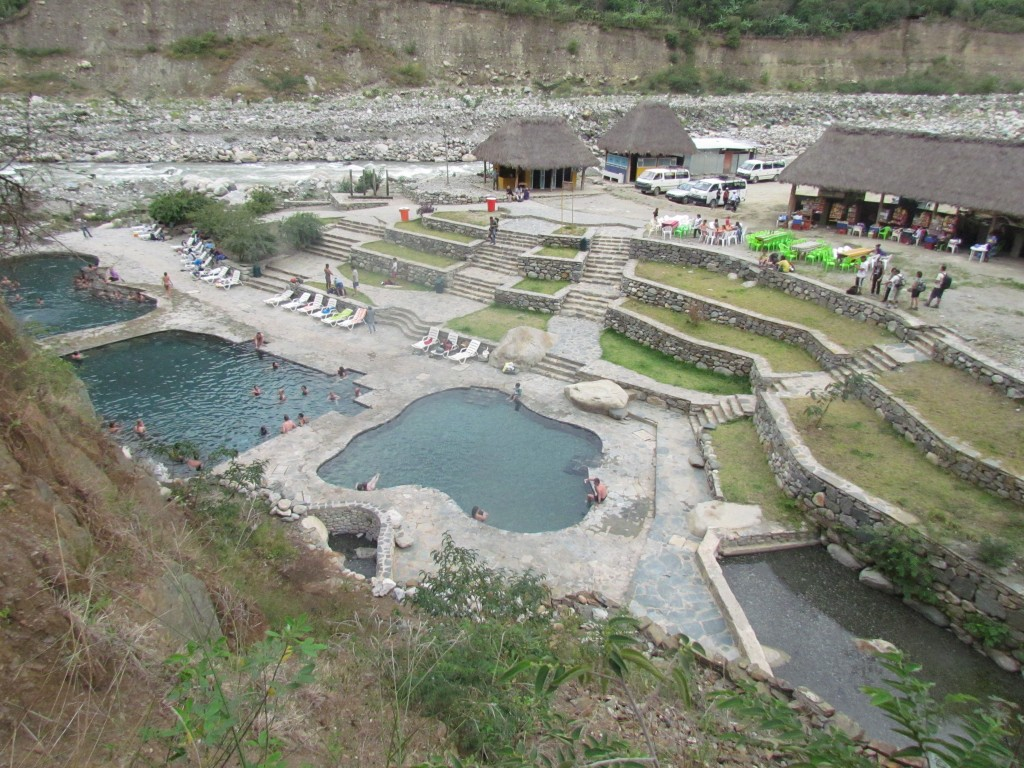 Jungle Trail to Machu Picchu - thermal baths