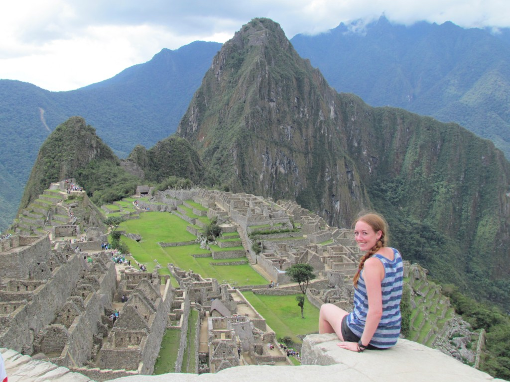 A day in Machu Picchu - that view