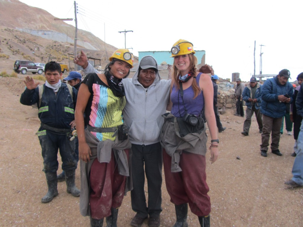 Potosi mines - friendly miner
