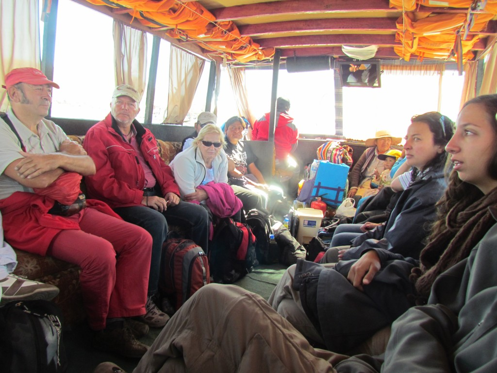 Floating Uros Islands - group meeting