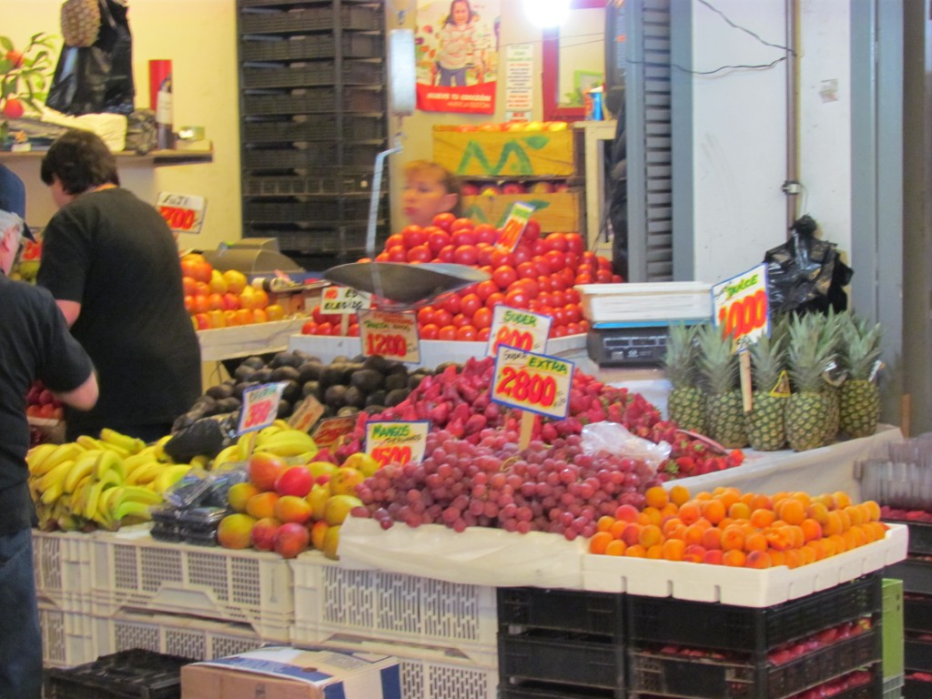 Top sights in Santiago - market