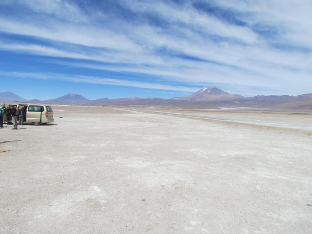 Salar de Uyuni - the border crossing