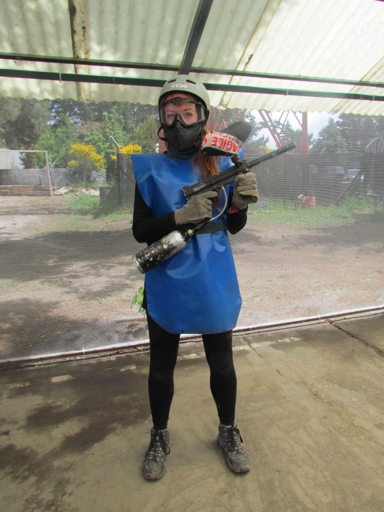 Paintballing in Bariloche - good to go