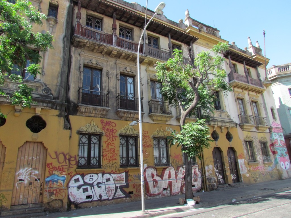Top sights in Santiago - Barrio Brasil