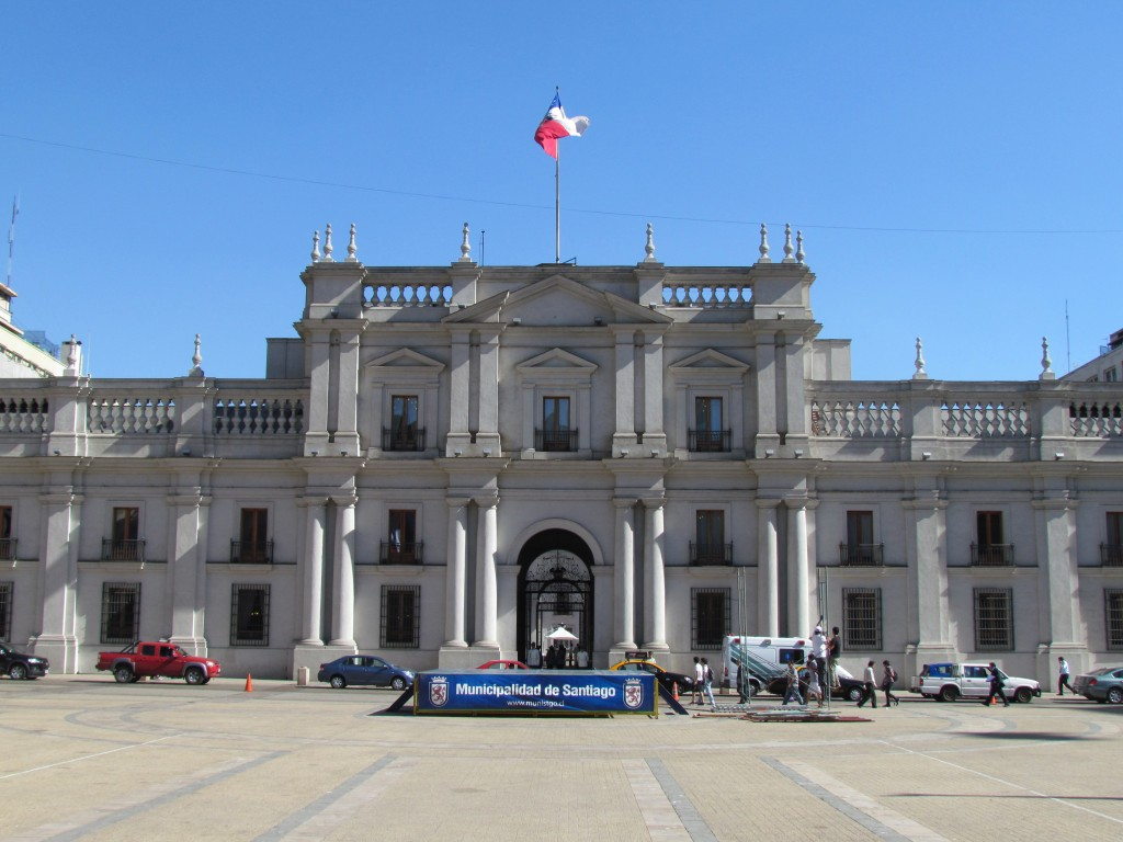Top sights in Santiago - La Moneda