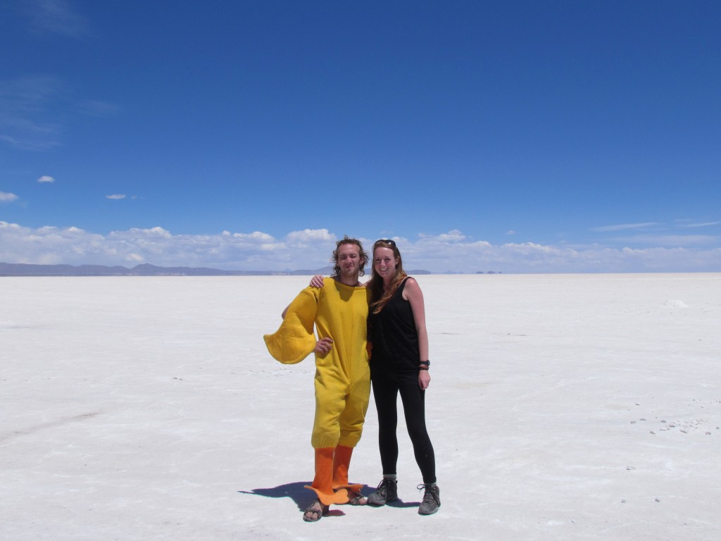 Salar de Uyuni - Chicken boy