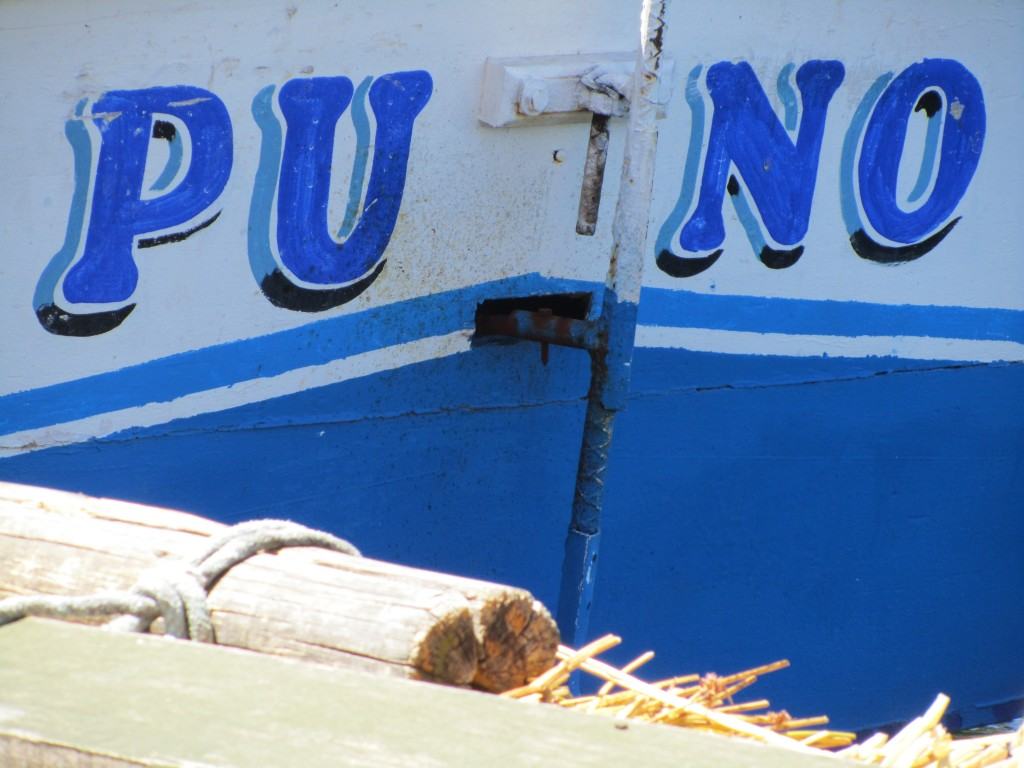 Floating Uros Islands - Puno boat