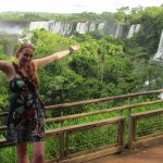 Visiting Iguazu Falls at New Year