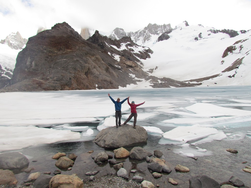 Hiking routes in El Chalten - Laguna de los Tres