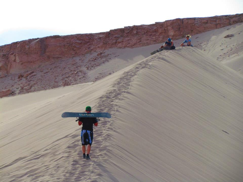Chile photofile - San Pedro sandboarding
