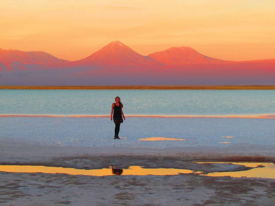 Chile photofile - San Pedro salt lagoons