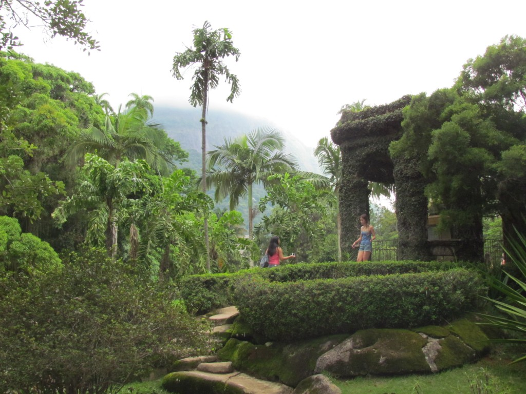 Botanical gardens in Rio - green