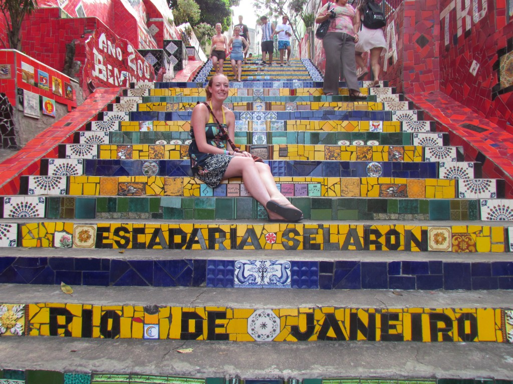 Lapa Steps - not so beautiful