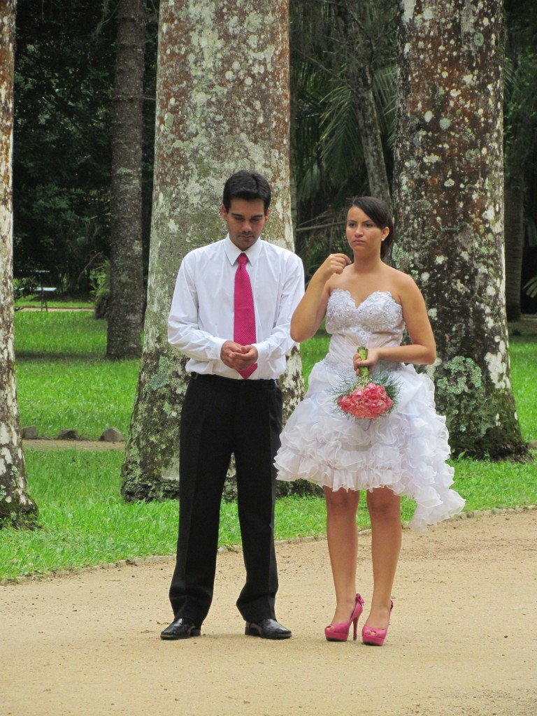 Botanical gardens in Rio - wedded bliss?