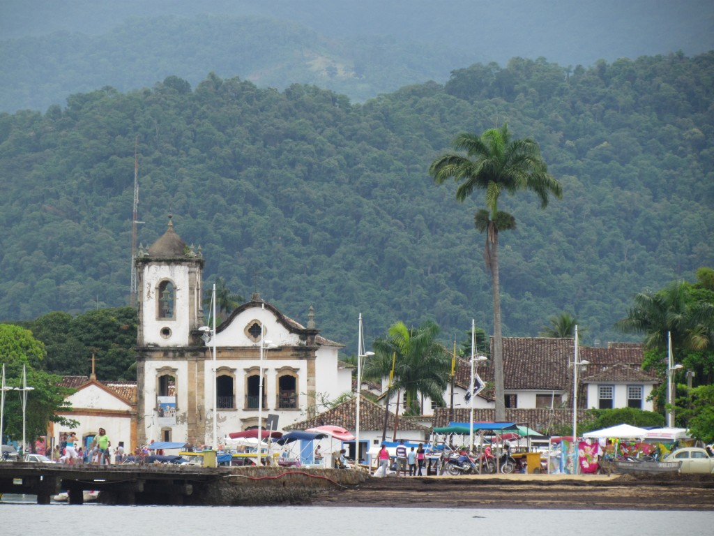 Paraty - church