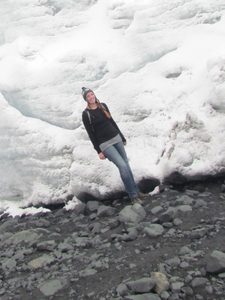 The downside to solo travel - Pastoruri glacier