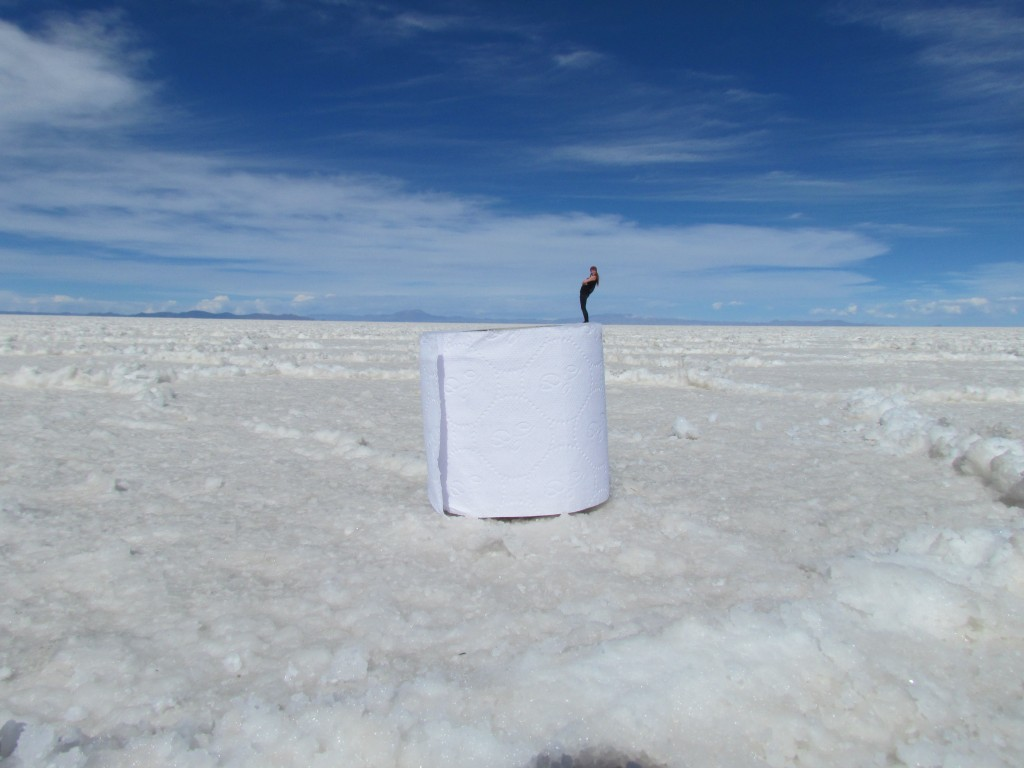 The downside to solo travel - salt flats