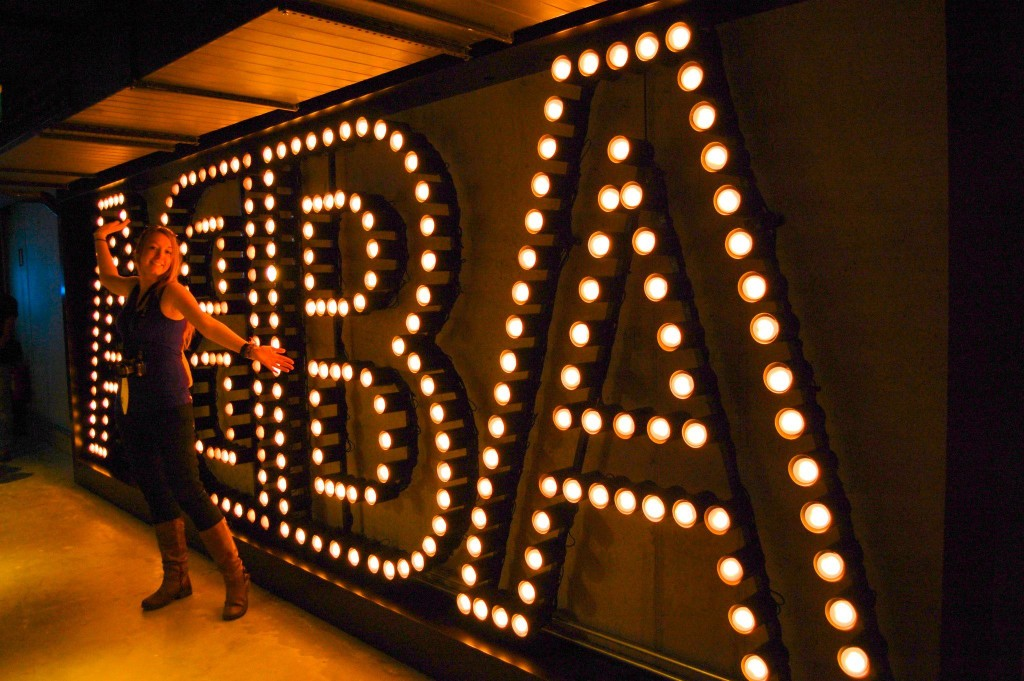 ABBA Museum - the entrance