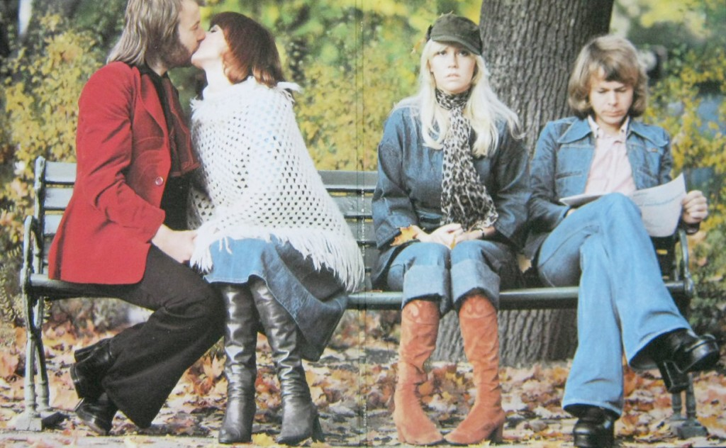 ABBA museum - park bench by ABBA