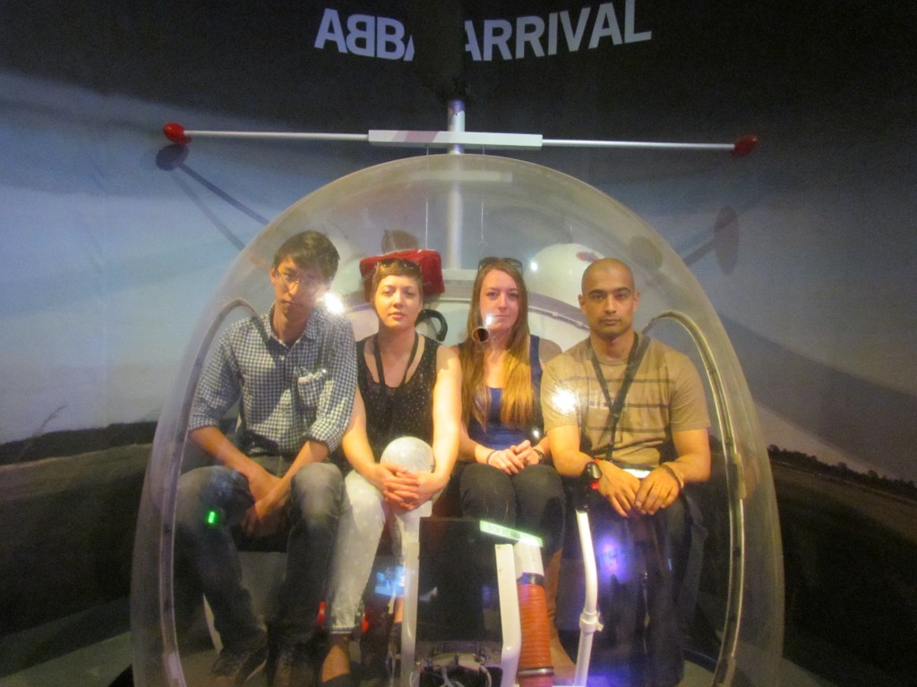 ABBA museum - helicopter by us