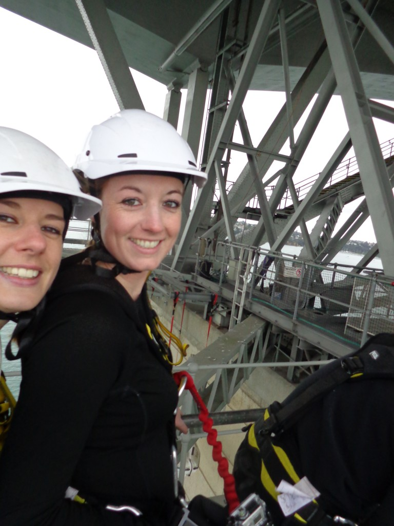 Auckland Harbour Bridge Bungy - walking there