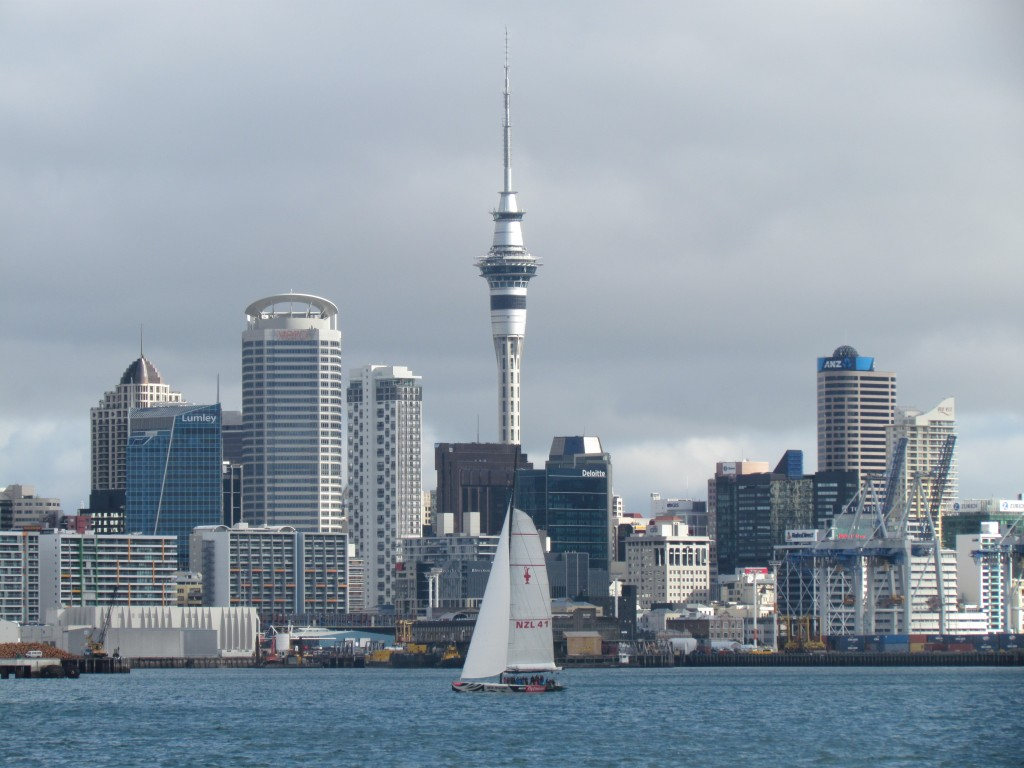 Auckland SkyJump - the Sky Tower