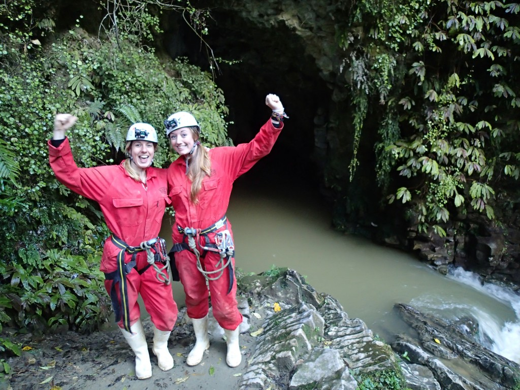 Black Odyssey caving with Legendary Blackwater Rafting Company - We made it!