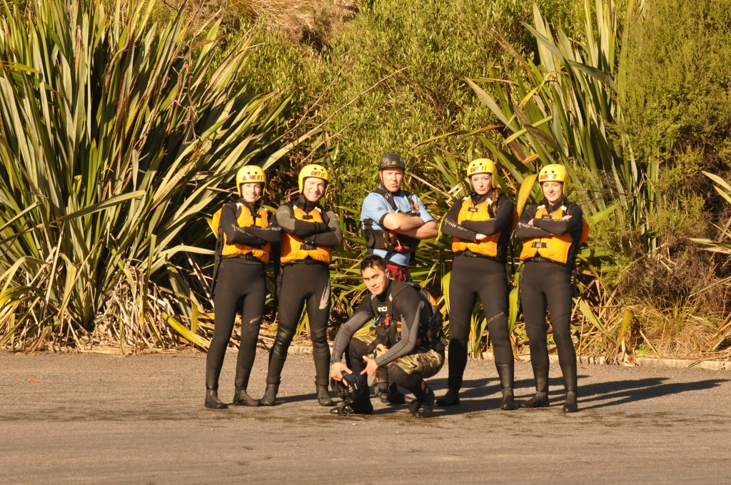 Rafting in New Zealand - Kaitiaki Adventures - the survivors