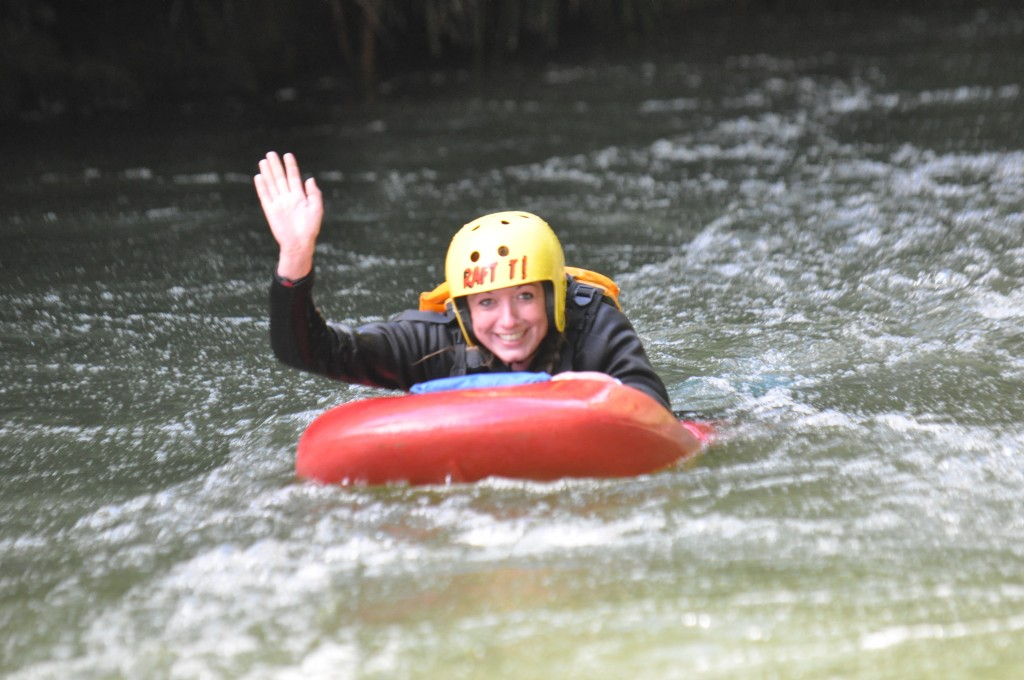 Rafting in New Zealand - Kaitiaki Adventures - Easy rider