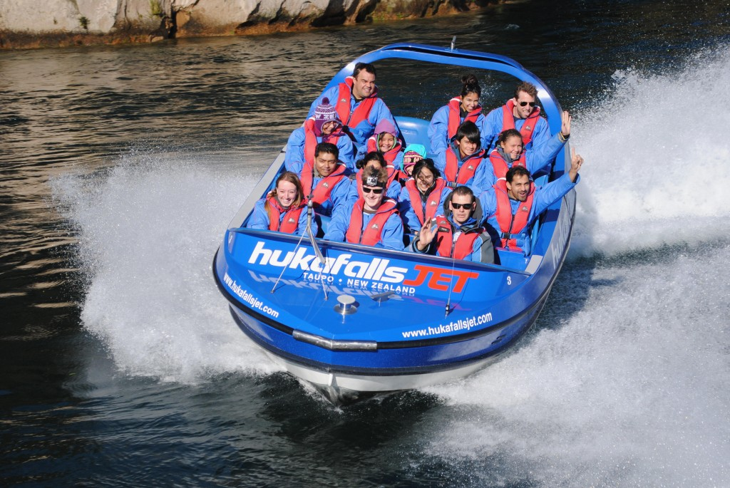 Highlights of New Zealand - jetboat