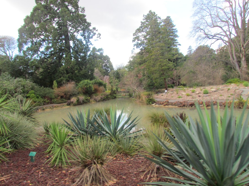 Two Years After the Christchurch Earthquake - botanic gardens