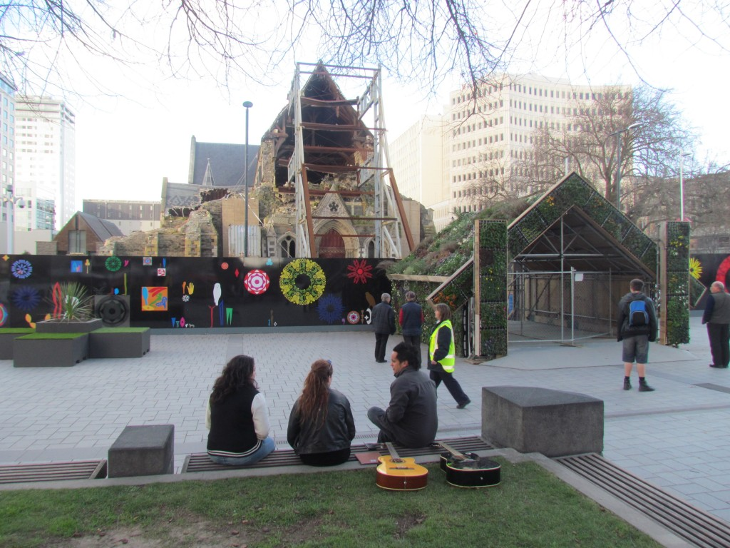 Two Years After the Christchurch Earthquake - old cathedral