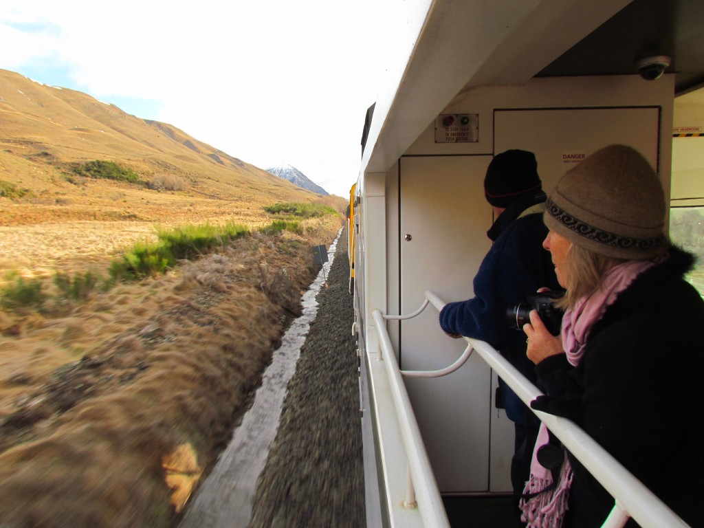 A Scenic Journey with KiwiRail - viewing deck