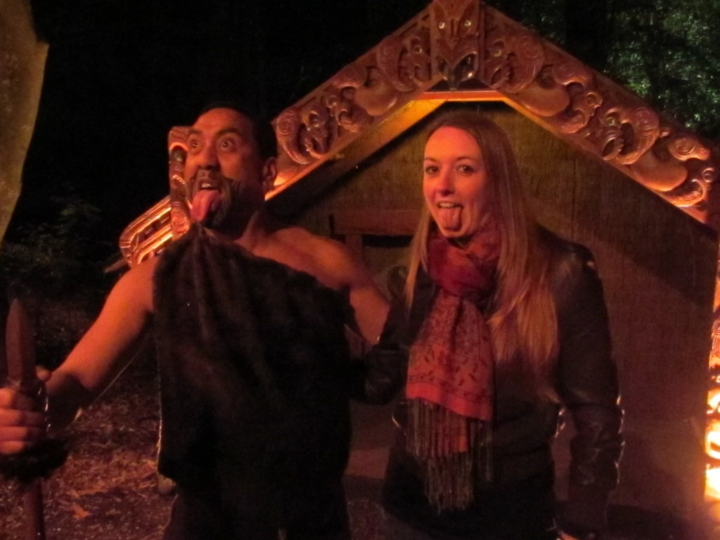 Highlights of New Zealand - Maori village